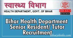 bihar Health Department